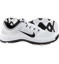 Men's Lunar Cypress Spikeless Golf Shoes - White/Wolf Grey/Black
