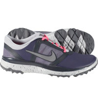 Women's FI Impact Spikeless Golf Shoes - Dark Raisin/Antharcite/Reflect Silver