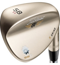 Vokey SM5 Gold Nickel Wedge