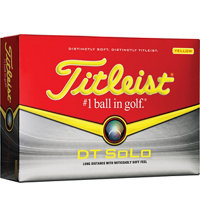 Logo DT Solo Yellow Golf Ball
