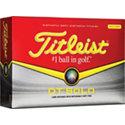 Titleist Logo DT Solo Yellow Golf Ball