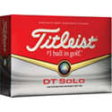 Titleist Logo DT Solo Golf Ball