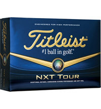 Logo NXT Tour Golf Ball