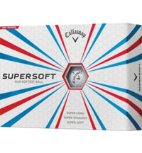 Logo Supersoft Golf Balls