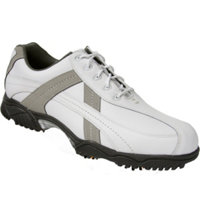 Men's Closeout Contour Series Golf Shoes - White/Grey (FJ# 54127)