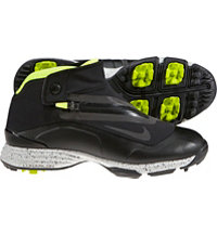 Men's Lunar Brandon II Spikeless Golf Shoes - Black/Volt