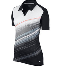 Women's Speed Stripe Mesh Short Sleeve Polo