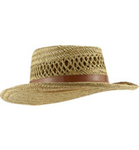 Men's Rush Straw Vented Gambler