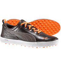 Men's Monolite Spikeless Golf Shoes - Brown/Orange