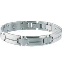 Men's Steel Sport Magnetic Bracelet