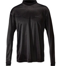 Men's Dry-18 Flatlock Stitch Long Sleeve Mock