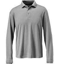 Men's Dry-18 Textured Long Sleeve Polo