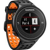 S6 GPS Watch - Black/Orange