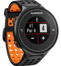Approach S6 Black/Orange GPS Watch