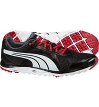 Men's FAAS Lite Mesh Spikeless Golf Shoe-2.0 Black/White/Crimson