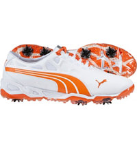 Men's BioFusion Golf Shoe-White/Orange