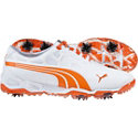 Puma Men's BioFusion Golf Shoe-White/Orange