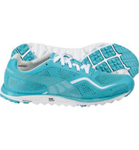 Women's Faas Lite Mesh Spikeless Golf Shoe-Scuba Blue/White