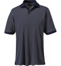 Men's Colored Chambray Short Sleeve Polo