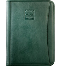 Logo DuraHyde Zippered Padfolio