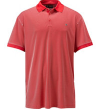 Men's Big & Tall Industrial Jacquard Polo