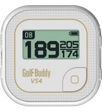 VS4 White/Gold Talking GPS