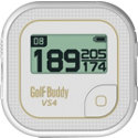 Golf Buddy VS4 White/Gold Talking GPS