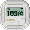 Golf Buddy VS4 White/Gold Talking GPS