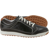 Men's Contour Casual Spikeless Golf Shoe-Black/Taupe (FJ# 54244)