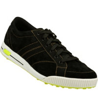 Men's Go Golf Drive Spikeless Golf Shoe - Black/Lime