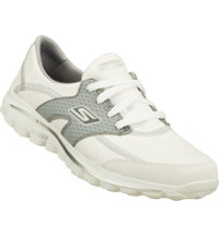 Women's Go Walk 2 Golf Spikeless Golf Shoes-White/Grey