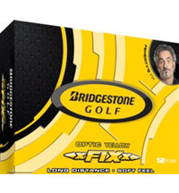 xFIXx Yellow Golf Balls