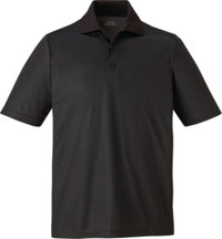 Men's Logo Snag Protection Striped Polo