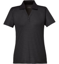 Women's Logo Snag Protection Striped Polo