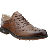 Men's Tour Hybrid Wingtip Golf Shoes - Walnut