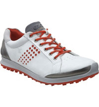 Men's BIOM Hybrid 2 Golf Shoes - White/Fire