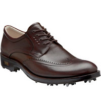 Men's World Class Golf Shoes - Mink/Cocoa Brown