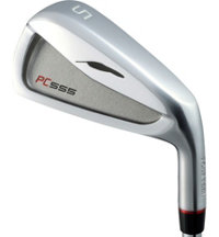 PC-555 5-PW Iron Set with Steel Shafts