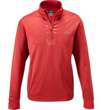 Men's Long Sleeve Quarter-Zip Heather Pullover