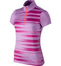 Women's Swing Stripe Short Sleeve Polo