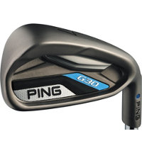 G30 4-PW,SW Iron Set with Steel Shafts - White Dot Plus 1