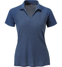 Women's Burnout Short Sleeve Polo