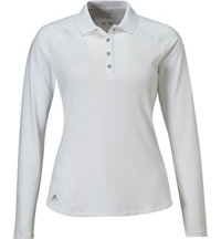 Women's climalite UPF Long Sleeve Polo
