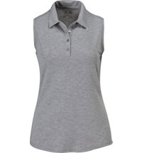 Women's Heather Sleeveless Polo