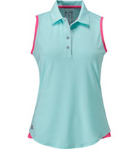 Women's Essentials 3-Stripes Sleeveless Polo