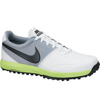 Men's Lunar Mont Royal Spikeless Golf Shoes - White/Black/Volt/Grey