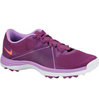 Women's Lunar Summer Lite II Spikeless Golf Shoes - Bold Berry/Hot Lava/Fuchsia Glow/White