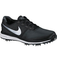 Men's Lunar Control III Golf Shoes - Black/Dark Grey/Pure Platinum