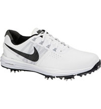 Men's Lunar Control III Golf Shoes - White/Black/Pure Platinum/Wolf Grey