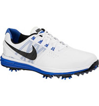 Men's Lunar Control III Golf Shoes - White/Black/Lyon Blue